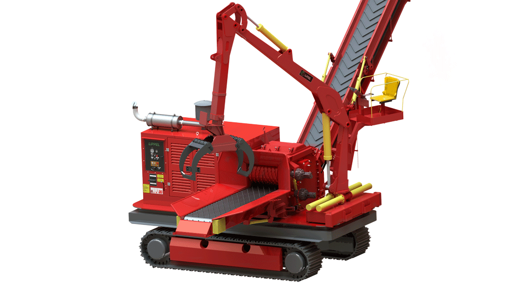 A new concept to meet your demands, with a cutting diameter up to 600 mm and 410 HP engine