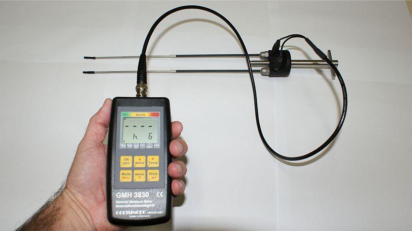 Medidor de Umidade para Biomassa GMH 3830