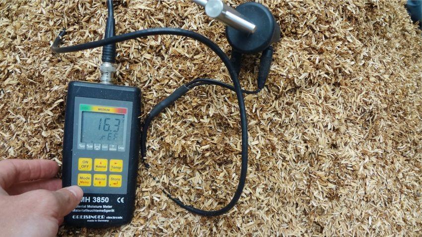 Medidor de Humedad Programable por el Usuario GMH 3850
