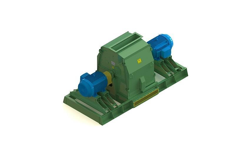 Ideal para moagem de cavacos, cascas, palha, serragem e outros tipos de resíduos para a produção de pellets e briquetes.