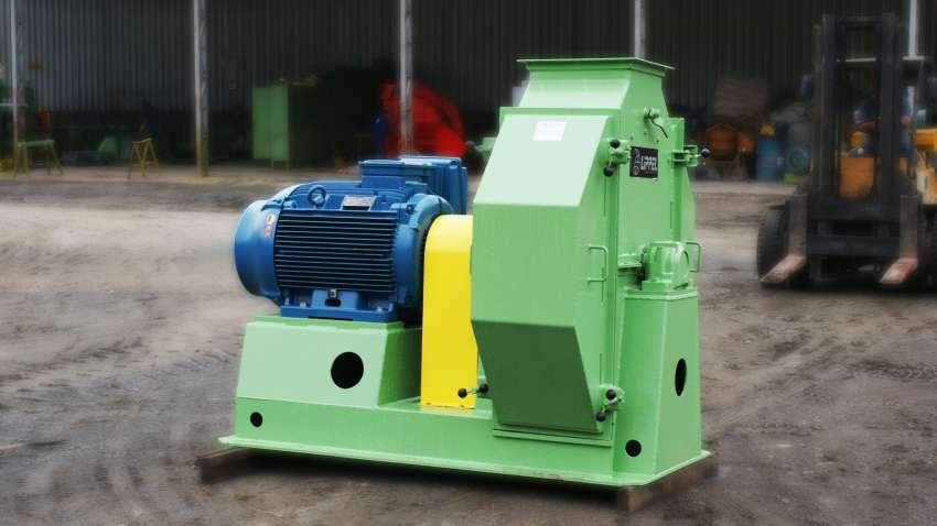 Os moinhos de martelo MML 980 podem moer vários tipos de materiais como serragem, maravalha, cavacos de madeira, cascas e outros tipos de biomassas.