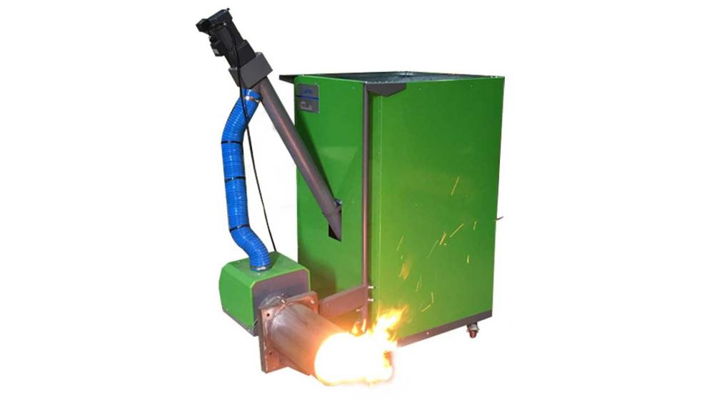 Pellets burner for home or industrial use