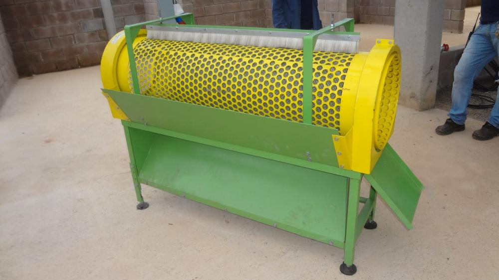 Rotating sieve for organic compound PRL 400x1500