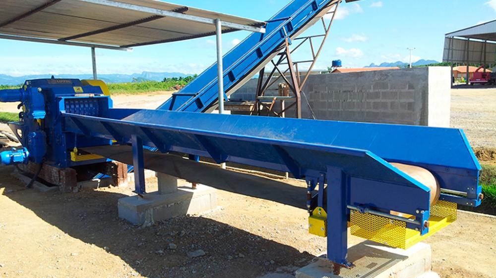 Picador de Madeira PTL 250/400x600 projeto voltado para atender as necessidades do cliente gerando eficiência no processamento de picagem.