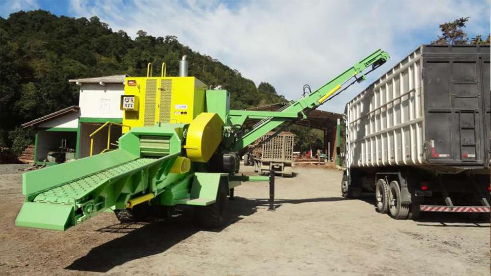 Mobile Wood Chipper for Recycling PTML 240 / 320x600 Plus