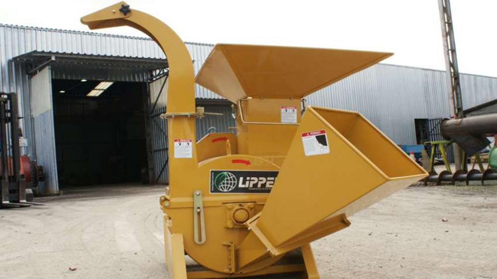 Logs Chipper and Branches shredder Lippel PMD 42