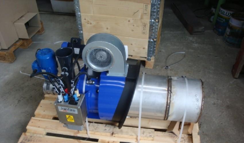 Queimador De Pellets Janfire System JET economia e preservação ambiental em um só produto