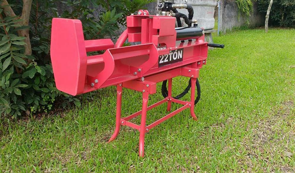 Novo Modelo de Rachador de Toras a Trator RTM 100
