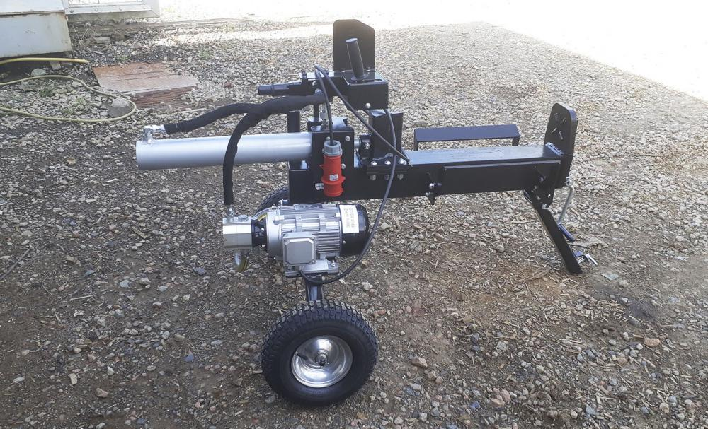 Electric Log Splitter RTI 02