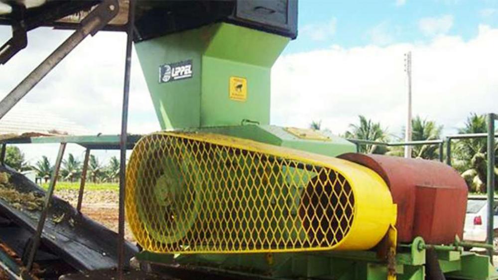 Transforme seus resíduos de biomassa de pequenas dimensões e vários tamanhos em um material uniforme e de fácil manuseio. Produção de 20m³/h