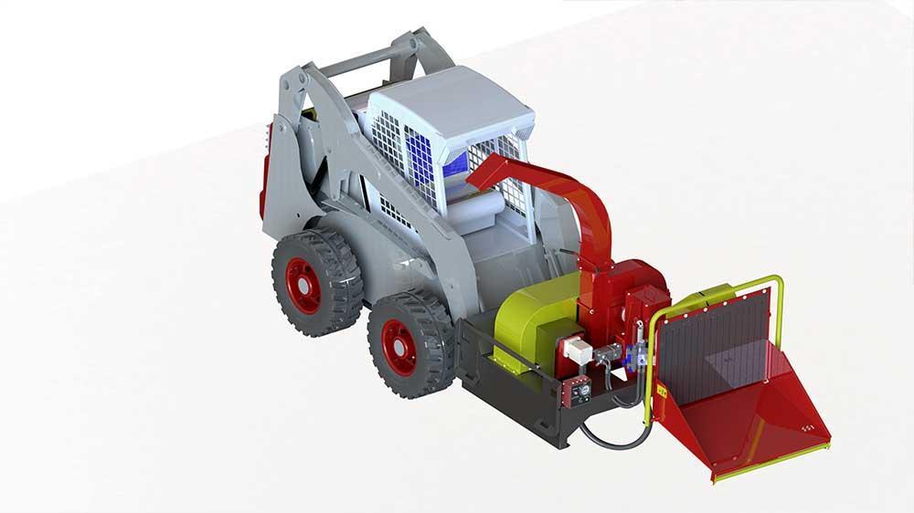 Ótima opção para quem precisa de praticidade e portabilidade na hora de limpezas, podas e processamento de resíduos de árvores