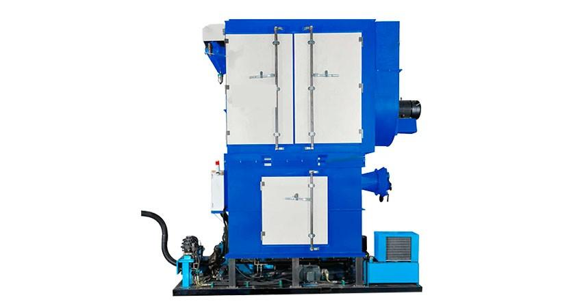 Vacuum Collector for Hydraulic Briquetting Machine BH 100 BH 150 increasing the productivity of your briquetting machine