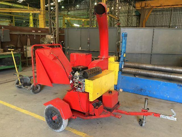 Used Wood Chipper, fully revised, towable type