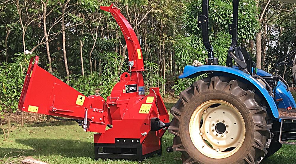 Equipment ideal for cleaning, pruning, thinning forests, management of urban trees in condominiums, farms and others.