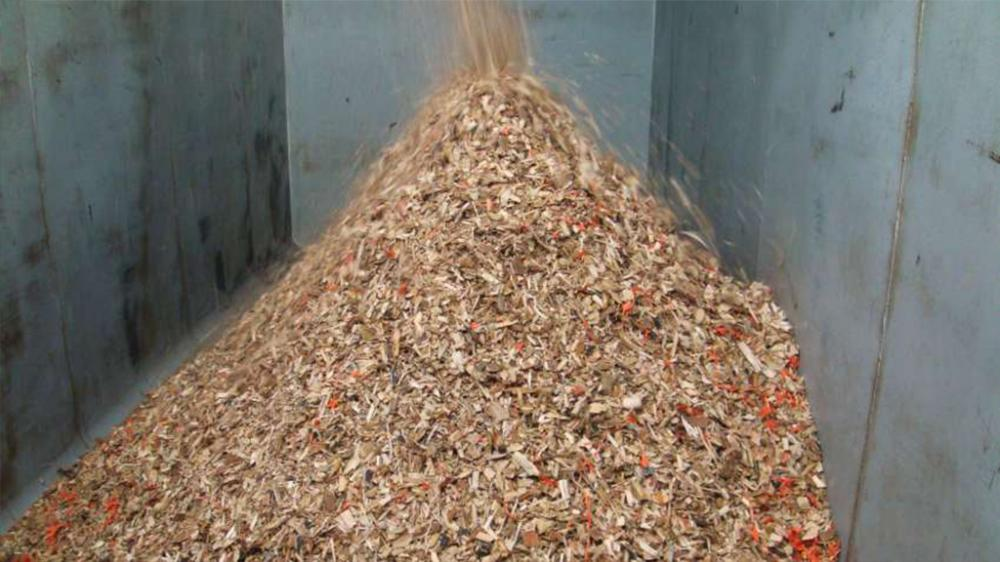 After: high quality wood chips; free of impurities