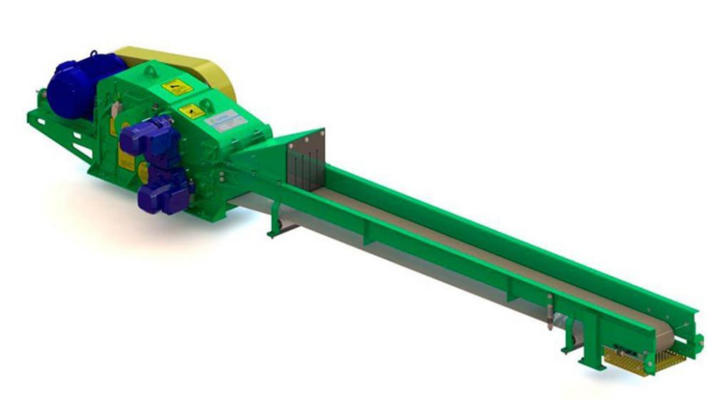 astilladora de madera hecho para satisfacer a los clientes con una menor producción