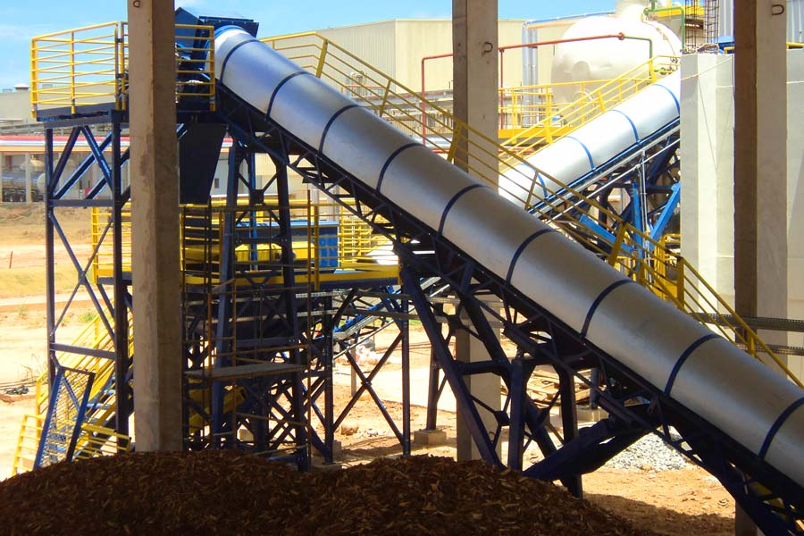 Automatic Boiler Feeding with biomass
