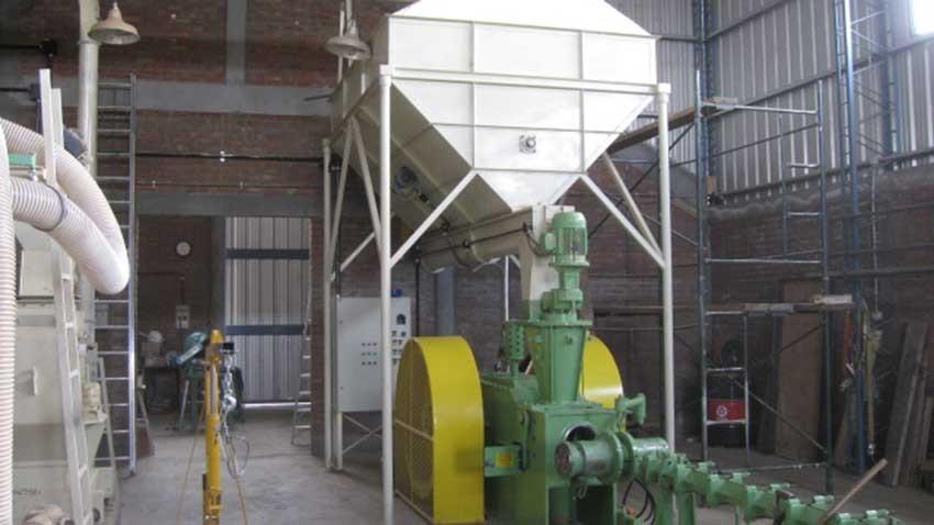 BL 95 instalada com silo aereo