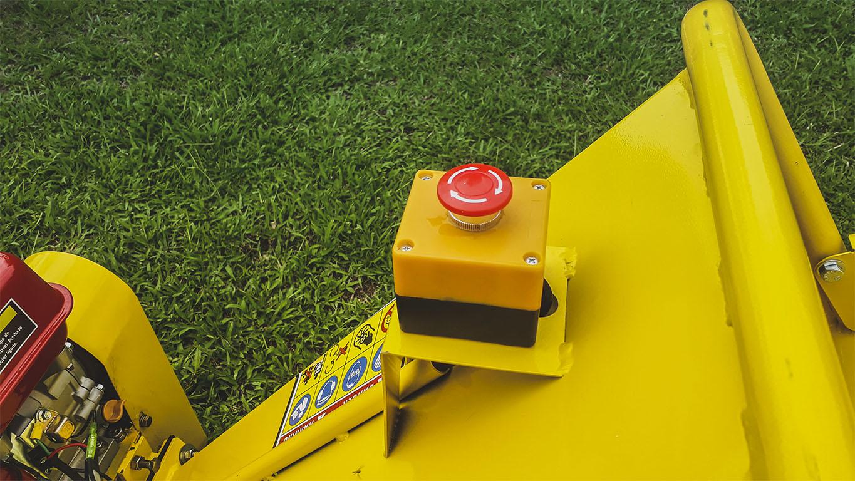 Botón de parada de emergencia