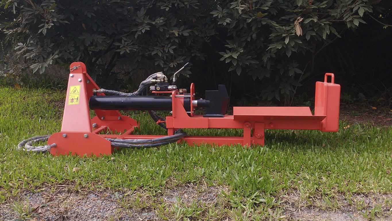 Capacidade para toras de até 650 mm de comprimento
