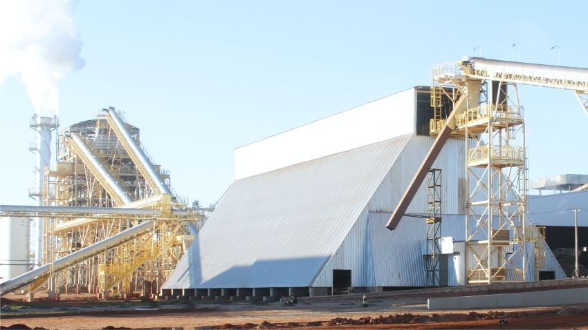Conveyor belts, hoppers, sorters and silos: All for automated biomass companies.