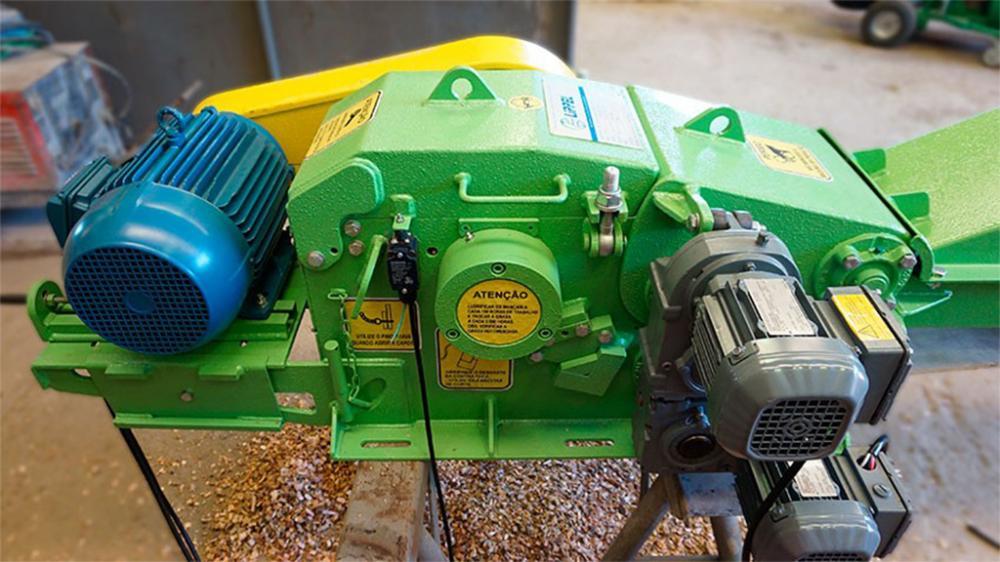Chipeadora de madera para moler los residuos de los aserraderos e industrias de moveleiras