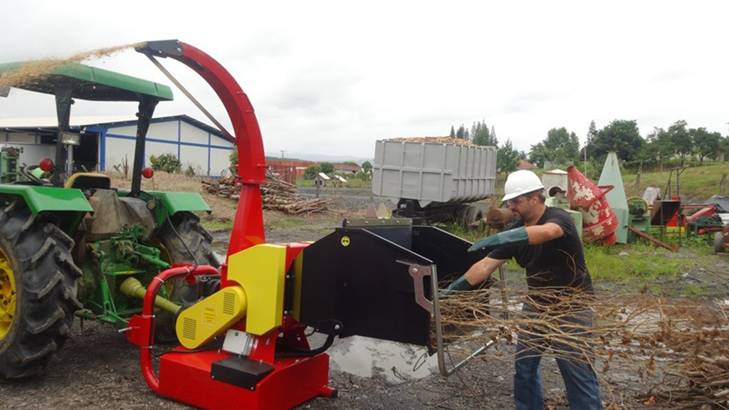 Crusher branches - wood chipper - BIO 1500