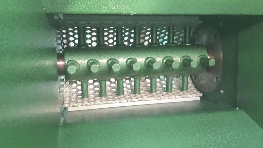 Diâmetro máximo para triturar 200 mm
