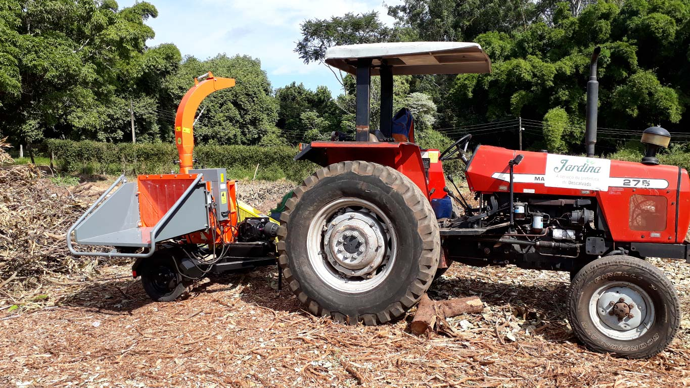 Equipment with tractor power take off