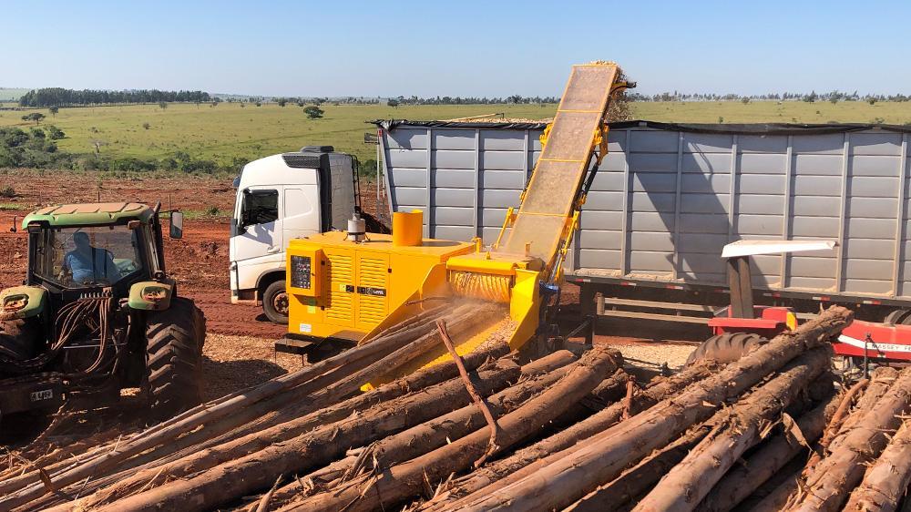 Da melhor linha de picadores florestais para o processamento de Biomassa