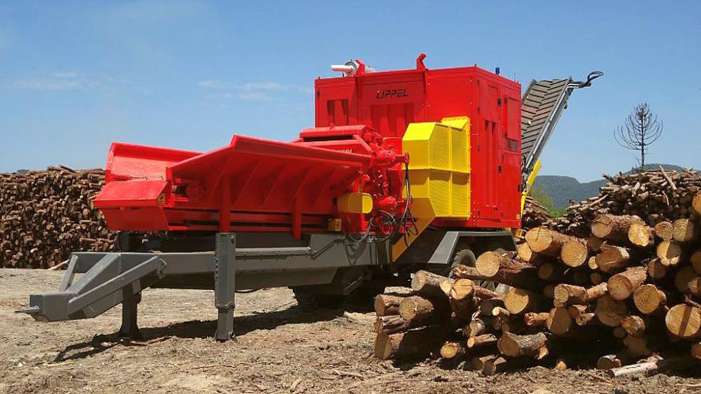 Forest chipper the Drum PTML 350 / 550x800