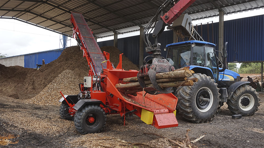High efficiency and productivity thanks to its cutting system