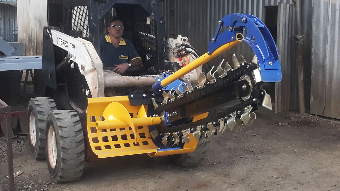 High performance trencher