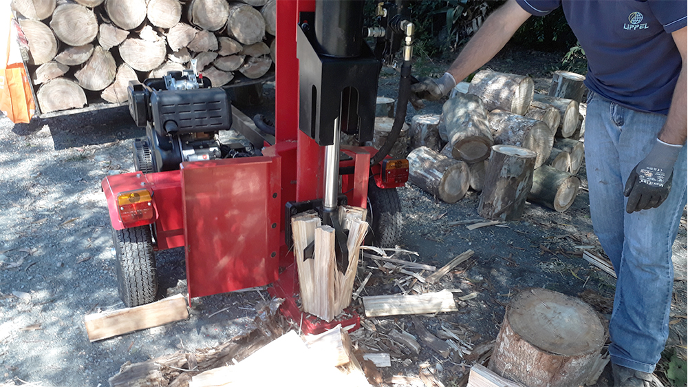 High productivity log splitter