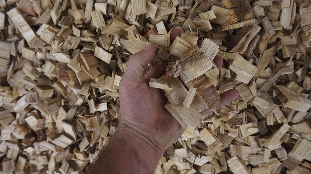 High quality wood chips