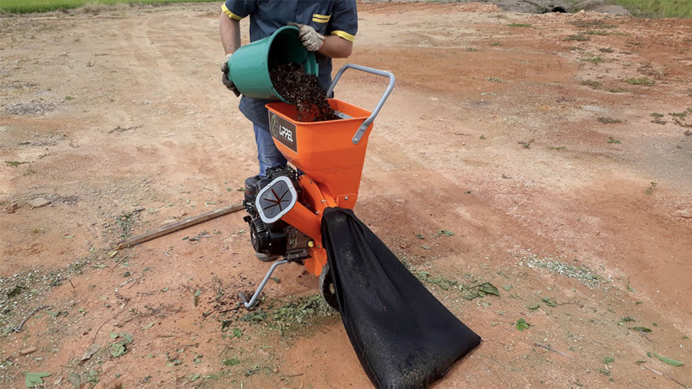 Ideal para o processo de compostagem orgânica