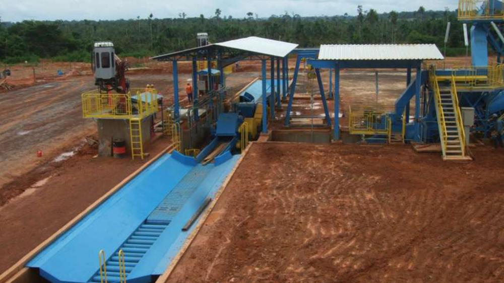 Instalation for great scale wood chips production
