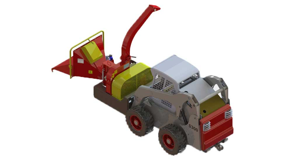 It adapts to your mini loader and your needs