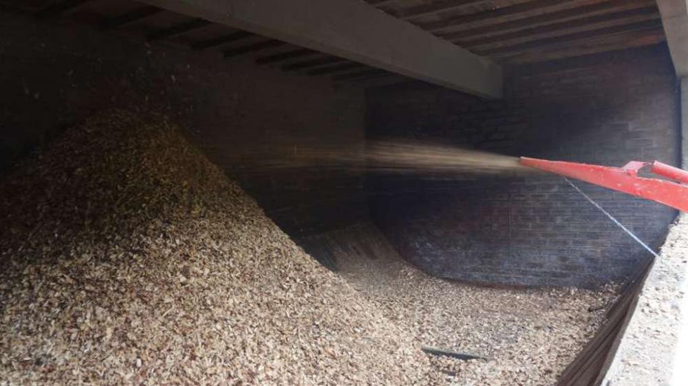 La extracción de fichas a 4.7m de altura; de alto flujo