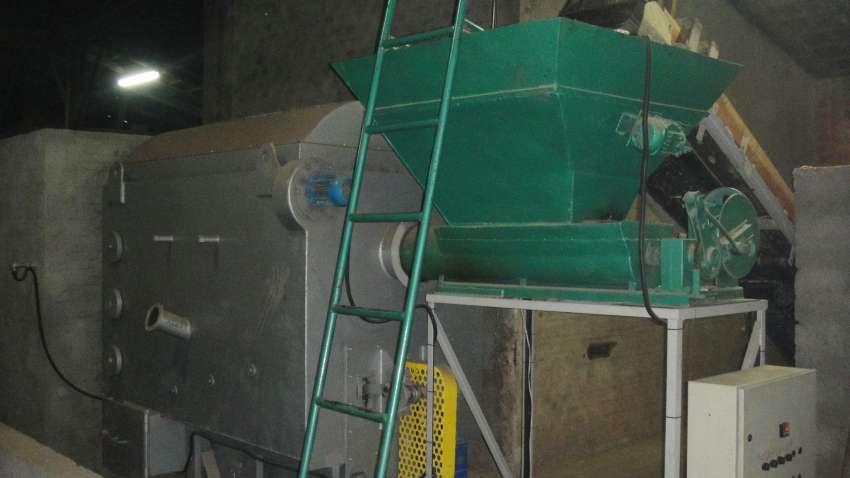 Lippel pyrolytic burner for drying tiles