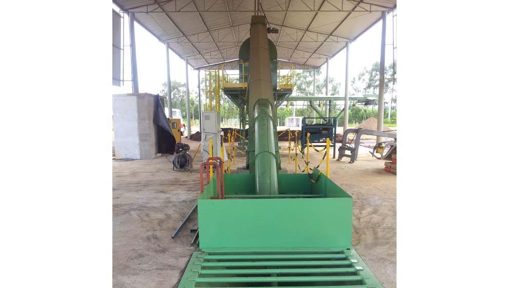 Maquinário para classificação de resíduos sólidos