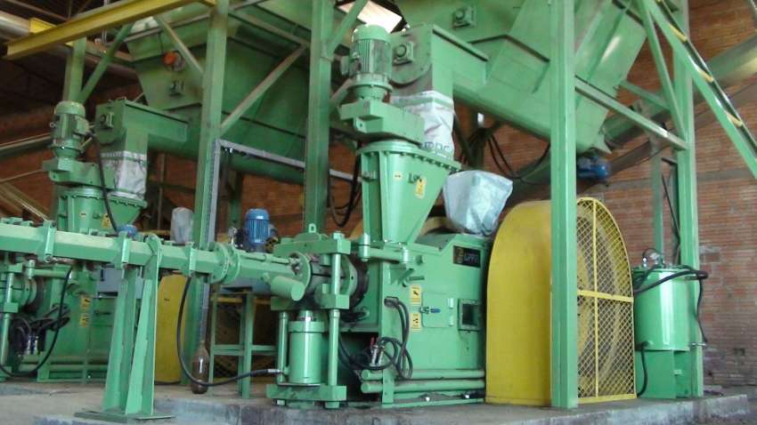 mechanical briquetter Lippel BL 95