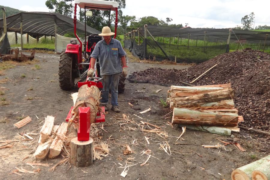 Mobile Firewood Splitter RTM 300