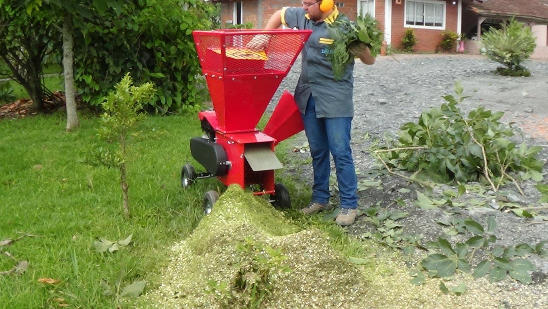 Moinho triturador para resíduos verdes e orgânicos
