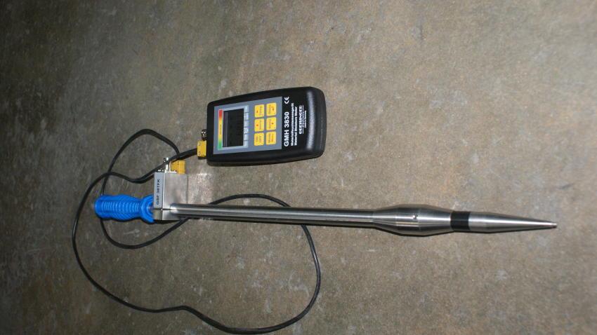 Moisture Meter for bulk materials.