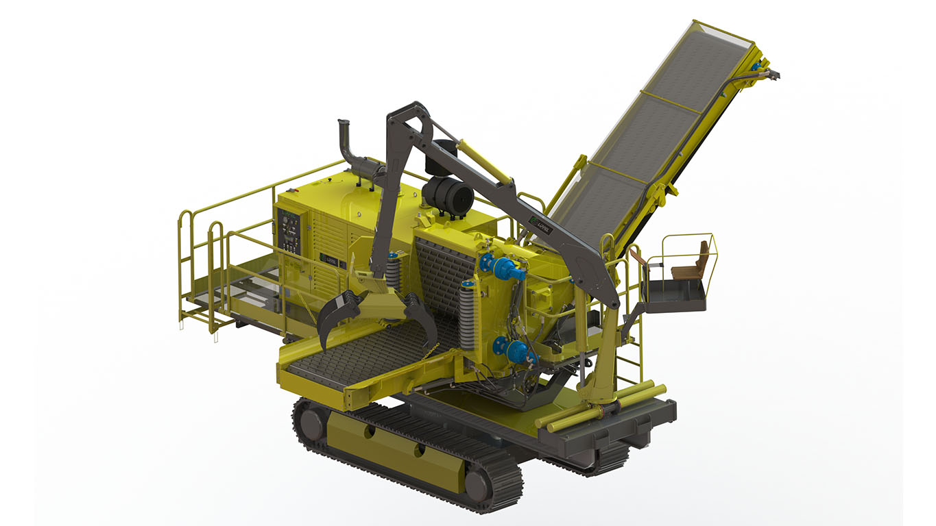 Optional crane system and traction belt