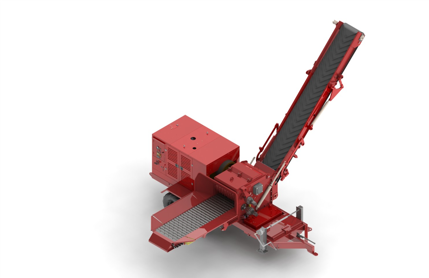 Optional with self-propelled crane and mat - third axis