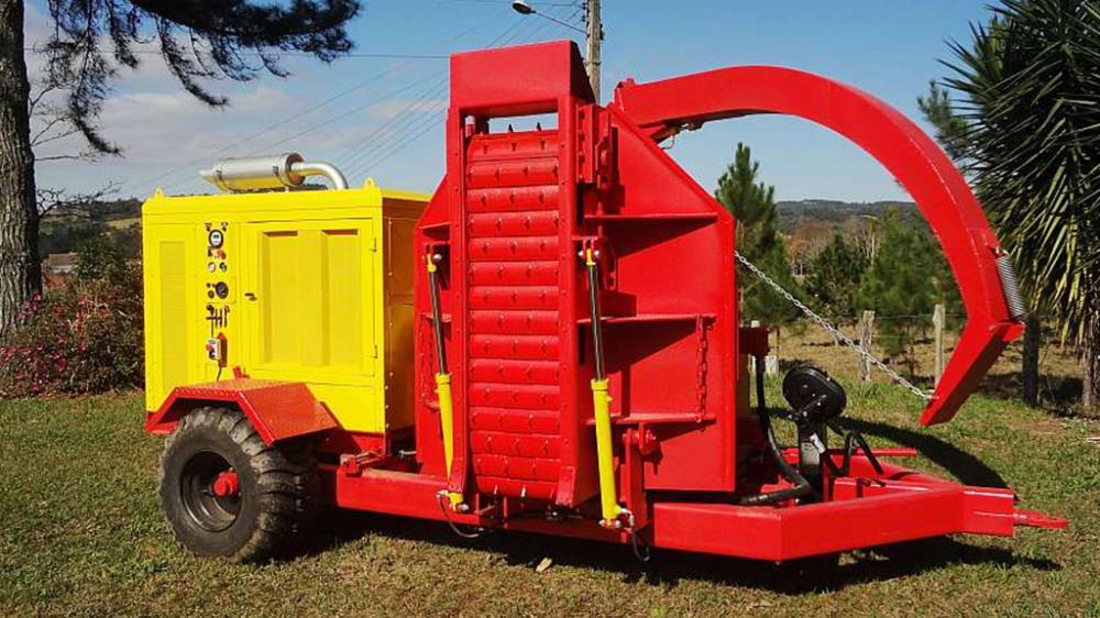 Para facilitar la alimentación, la cinta de transporte y el conducto de salida son retractiles
