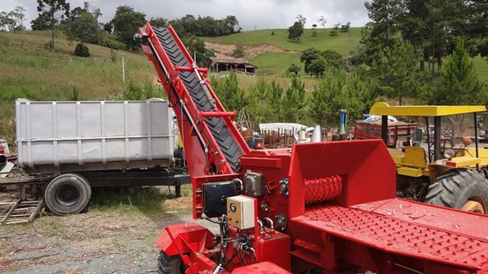 Picador acoplado Tractores forestales