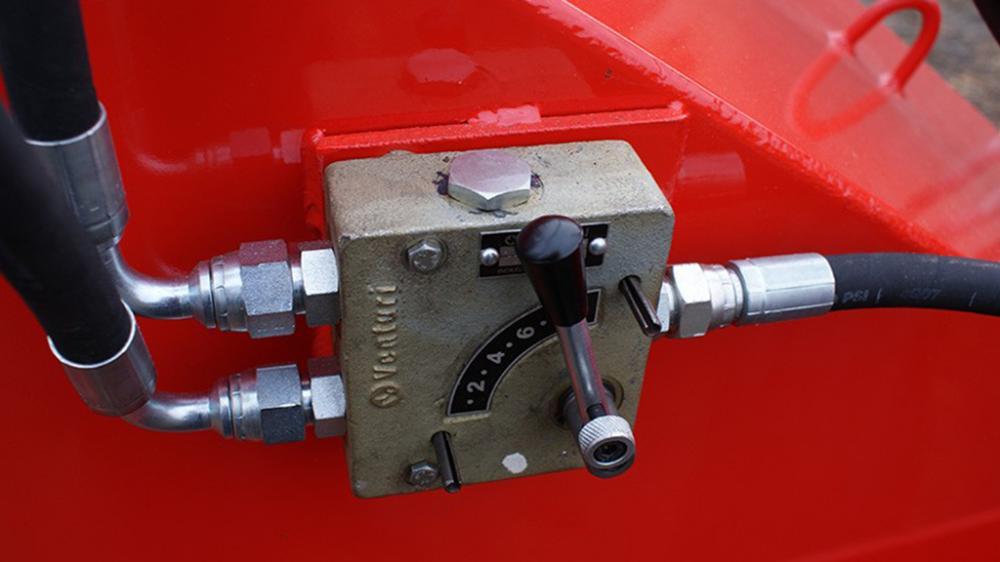 Picador de madeira detalhe do controlador
